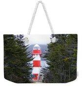 Harbor Breton Lighthouse Weekender Tote Bag