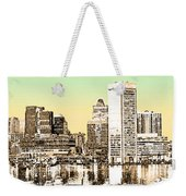 Harbor Lights From Federal Hill - Drawing Fx Weekender Tote Bag