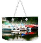 Harbor Masts Weekender Tote Bag