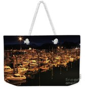 Harbor Night Weekender Tote Bag