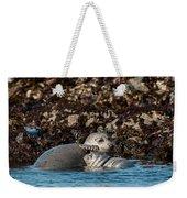 Harbor Seal And Pup Weekender Tote Bag