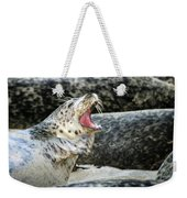 Harbor Seal Weekender Tote Bag