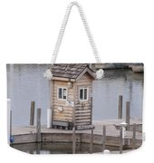 Harbor Shack Weekender Tote Bag