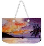 Harbor Sunset Kauai Hawaii Weekender Tote Bag