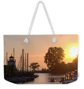 Harbor View 11 Weekender Tote Bag