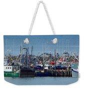 Harbor View Weekender Tote Bag
