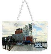 Harbor View With Elbphilharmonie Weekender Tote Bag