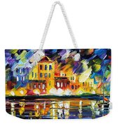 Harbor's Flames Weekender Tote Bag