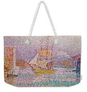 Harbour At Marseilles Weekender Tote Bag