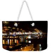 Harbour At Night Weekender Tote Bag