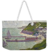 Harbour At Port En Bessin At High Tide Weekender Tote Bag