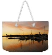 Harbour Sun Set Weekender Tote Bag