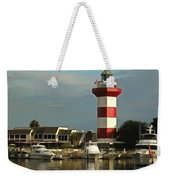 Harbour Town Light Hilton Head South Carolina Weekender Tote Bag