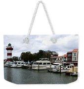 Harbourtown Marina Panorama Weekender Tote Bag