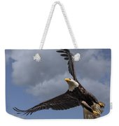 Hard Banking Eagle Weekender Tote Bag