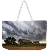 Hard Days - Abandoned Home On West Texas Plains Weekender Tote Bag