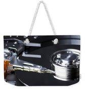 Hard Disk Weekender Tote Bag