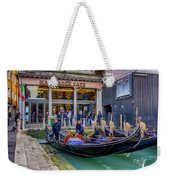 Hard Rock Cafe Venice Gondolas_dsc1294_02282017 Weekender Tote Bag