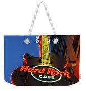 Hard Rock Guitar Detroit Weekender Tote Bag