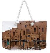 Hard Winter Weekender Tote Bag