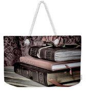 Hardcover Books Weekender Tote Bag