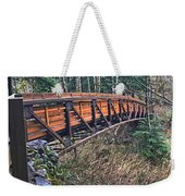 Hardy Creek Bridge Weekender Tote Bag
