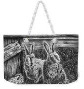 Hare Line  Weekender Tote Bag