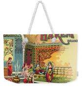 Harem Vintage Fruit Packing Crate Label C. 1920 Weekender Tote Bag