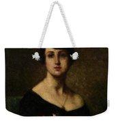 Harlamoff, Alexei 1840-1925 Female Portrait Weekender Tote Bag