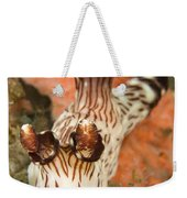 Harlequin Shrimp Hymenocera Elegans Weekender Tote Bag
