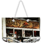 Harley Beach Bar Weekender Tote Bag by Jasna Buncic