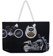 Harley Davidson 105th Anniversary Weekender Tote Bag