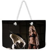Harley Davidson Motorcycle Bikini  Weekender Tote Bag