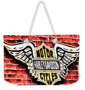 Harley Davidson Wings Weekender Tote Bag