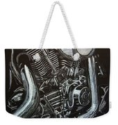 Harley Engine Weekender Tote Bag