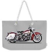 Harley Model Fl 1960 Weekender Tote Bag