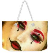Harley Quinn Face - Da Weekender Tote Bag