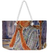 Harmonica Player And A Howler Weekender Tote Bag
