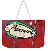 Harmony Uke Weekender Tote Bag