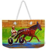 Harness Racing At Bluebonnets Weekender Tote Bag