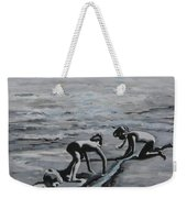 Harnessing The Ocean Weekender Tote Bag