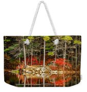 Harold Parker State Park In The Fall Weekender Tote Bag
