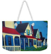 Harpswell Cottages Weekender Tote Bag