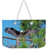 Harriet As I Open Wings Magics Happen Weekender Tote Bag