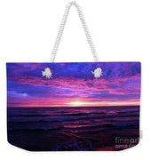 Harrington Beach Sunrise 3 Weekender Tote Bag