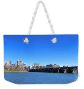 Harrisburg Skyline Weekender Tote Bag