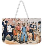 Harrison Cartoon, 1888 Weekender Tote Bag