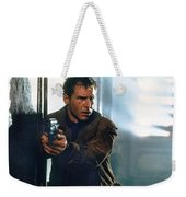 Harrison Ford As Rick Deckard A Blade Runner  In Blade Runner 1982 Weekender Tote Bag