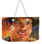 Harrison Ford Indiana Jones Portrait 3 Weekender Tote Bag