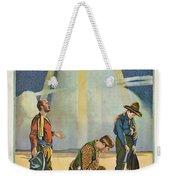 Harry Carey In Marked Men 1919 Weekender Tote Bag